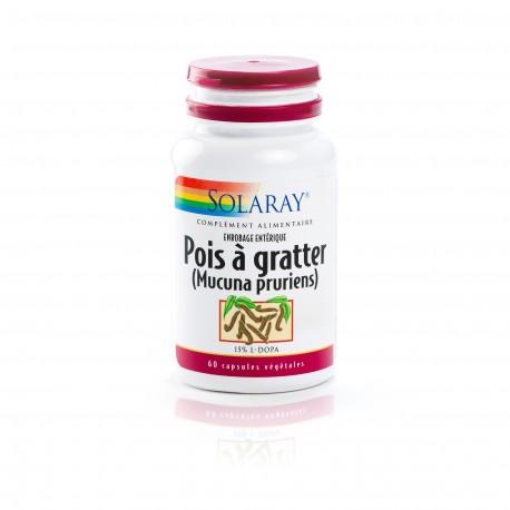 Pois à Gratter 333 mg Standardisé à 15% De L-DOPA
