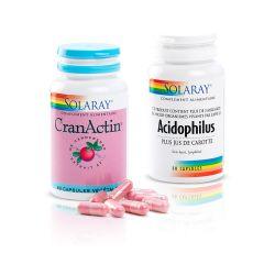 Formule Confort Urinaire Acidophilys + Cran Actin