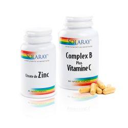 Formule Beauté de la Peau Zinc + Complex B + Vitamine C