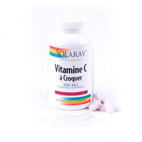 VITAMINE C 500 mg à croquer