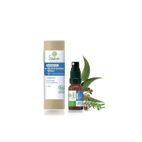 Respir'aroma spray aux huiles essentielles bio