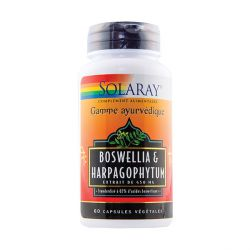 Boswellia 300mg & Harpagophytum 125mg Solaray