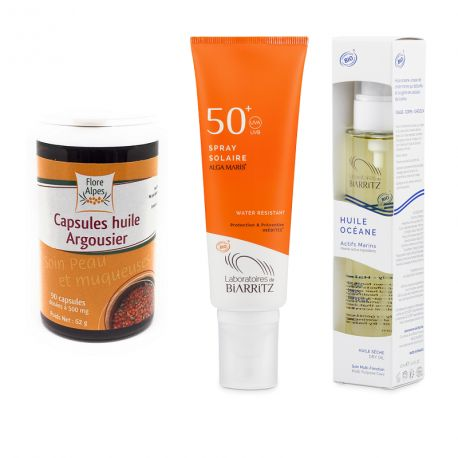 Pack Solaire COmplet SPF 50