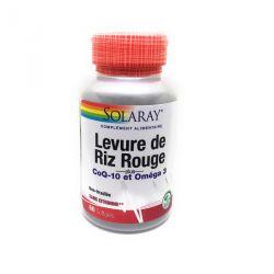 Levure de Riz Rouge 600 mg + CoQ-10 30 mg + Omega 3