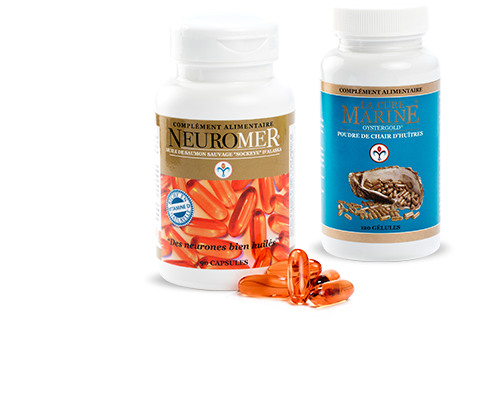Formule Beauté, Anti-âge / Antioxydant Neuromer + Cure Marine